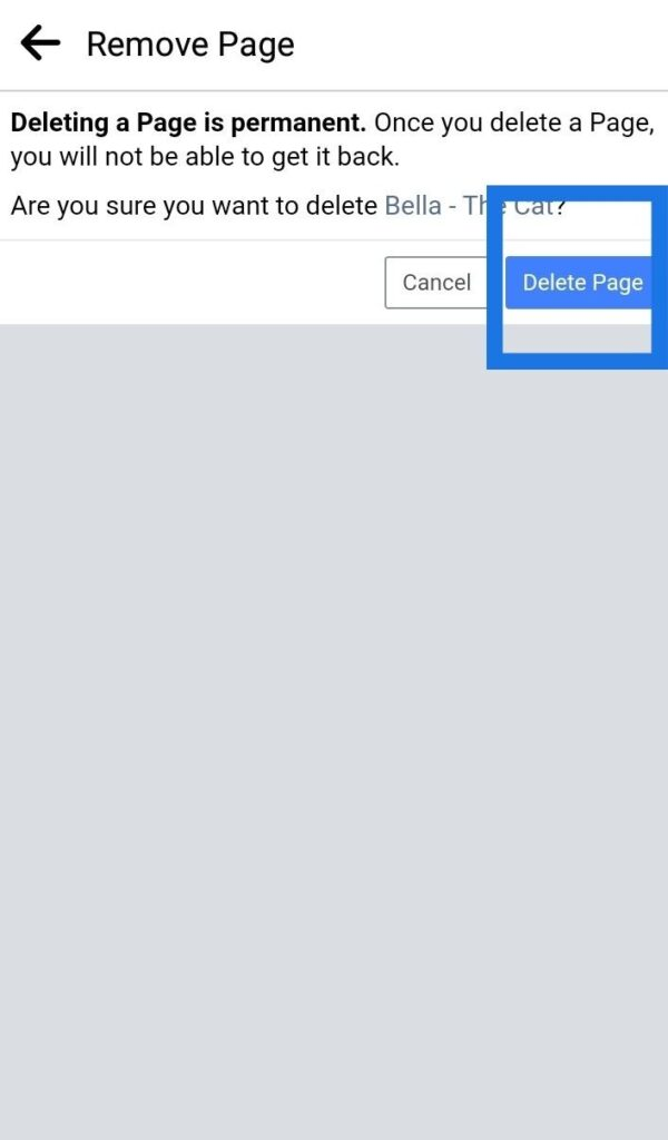 How To Delete Facebook Business Page On Mobile