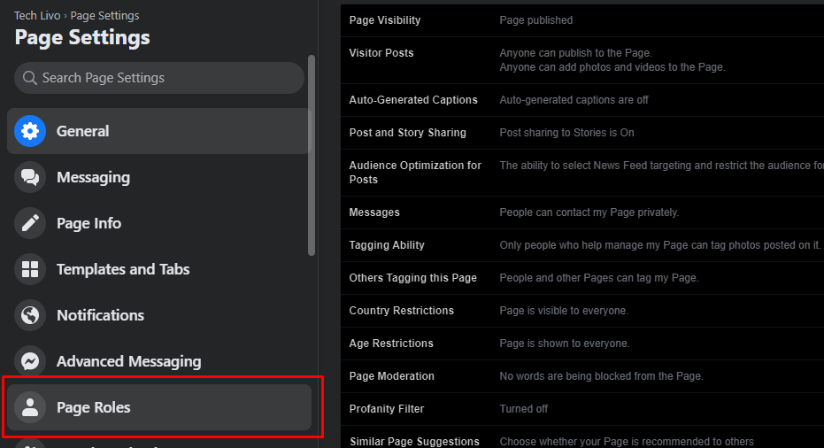 how to make facebook page admin