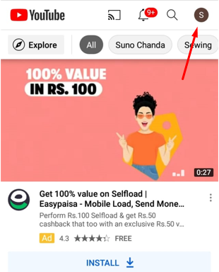 how to change youtube channel name on phone